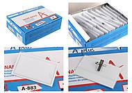 Бейдж пластиковый (50шт в коробке), A-883