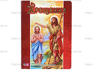 Книга «Библейные истории: Крещение», А14535У, цена