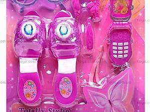 Бижутерия для девочки, с туфлями, 8021, цена