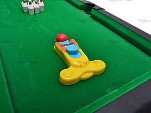 Бильярд 2в1 и боулинг, 2119, toys.com.ua