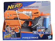 """Бластер """"Nerf Elite"""" с поролоновыми снарядами, 11211, фото"""