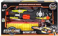 Бластер с эффектами черно-желтый, SB416, игрушки