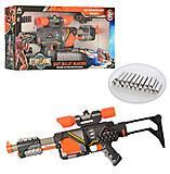 Бластер с поролоновыми снарядами игрушечный, SB394, опт