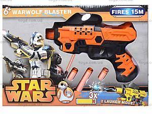 Детский бластер с гелевыми пульками и присосками, SB333, игрушки