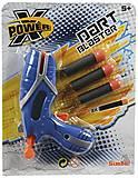 Бластер X-Power синий, 721 1693-1, магазин игрушек