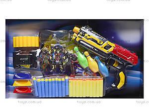 Игровой набор «Бластер с присосками», XH-021A, детские игрушки
