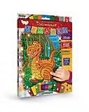 Блестящая мозаика «Динозаврик», БМ-02-01, фото