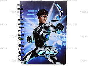 Блокнот 80 листов «Max Steel», MX14-226K