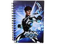 Блокнот 80 листов «Max Steel», MX14-226K, набор