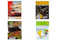 Блокнот А5, 40 листов, разные обложки (4 штуки в упаковке), В-Л5-40