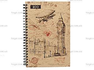Блокнот А5 «Эко-бумага», 50 листов, 1320081, детские игрушки