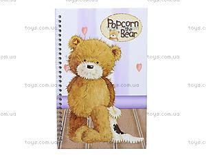 Блокнот А5 Popcorn Bear, PO13-221K
