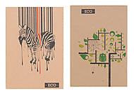 Блокнот А6 серия «Дерево, Зебра, Любовь», Ц155012У, фото