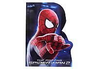 Блокнот А6 Spider-Man, SM14-223K, фото