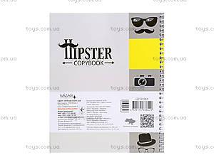 Блокнот в клеточку «Серия Хипстер», Ц355036У, фото