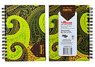 Блокнот на пружине «Серия 100% Quality», 80 листов, 1020131, купить