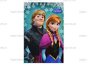 Блокнот А6 серии Frozen, 50 листов, Ц558005У, отзывы