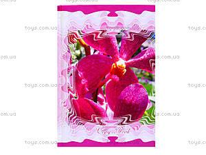 Блокнот в клетку «Серия Экзотические цветы», 1020112, купить
