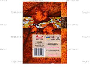 Блокнот с твердой обложкой «Листопад», 160 листов, 1020111, купить