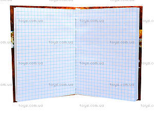Блокнот с твердой обложкой «Листопад», 160 листов, 1020111, фото