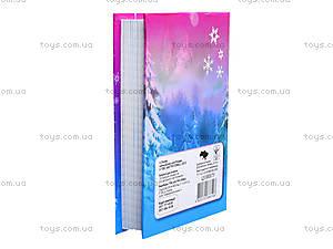 Блокнот с твердой обложкой Frozen, Ц558007У, купить