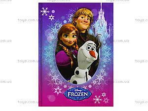 Блокнот с твердой обложкой Frozen, Ц558007У, игрушки