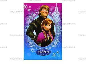 Блокнот с твердой обложкой Frozen, Ц558007У, детские игрушки