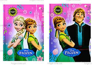 Блокнот с твердой обкложкой Frozen, 48 листов, Ц558006У