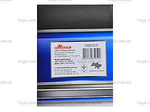 Блокнот для заметок «Серия Металлик», 48 листов, 1020125, игрушки