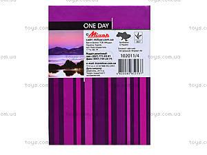 Записная книжка серии One day, 160 листов, 1020114, купить
