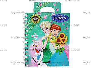 Детский блокнот серии Frozen, 50 листов, Ц558009У, фото