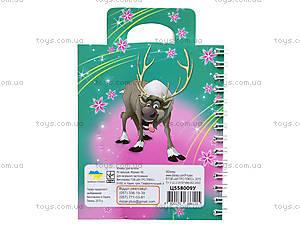 Детский блокнот серии Frozen, 50 листов, Ц558009У, отзывы