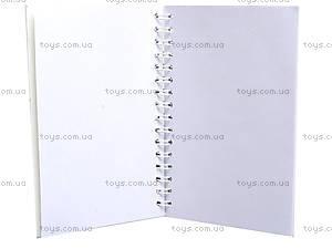 Блокнот на пружине Frozen, 50 листов, Ц558008У, фото