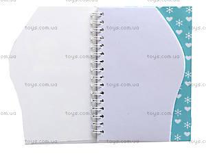 Блокнот на пружине Frozen, 50 листов, Ц558008У, отзывы