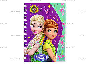 Блокнот на пружине Frozen, 50 листов, Ц558008У, цена