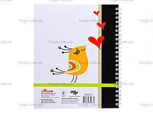 Блокнот на пружине «Серия Just smile», 80 листов, 1020271, купить