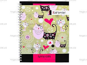 Блокнот на пружине «Серия Just smile», 80 листов, 1020271, отзывы