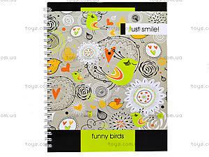 Блокнот на пружине «Серия Just smile», 80 листов, 1020271, цена