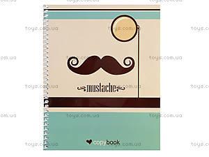 Блокнот на пружине Mustache and Crazy, 60 листов, Ц355035У, отзывы