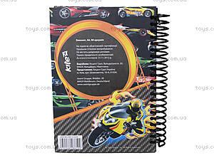 Блокнот Hot Wheels, 80 листов, HW13-222K, купить