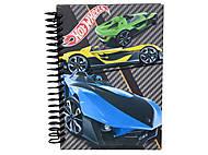 Блокнот Hot Wheels, 80 листов, HW13-222K, интернет магазин22 игрушки Украина