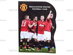 Блокнот Manchester United, 60 листов, MU14-223K