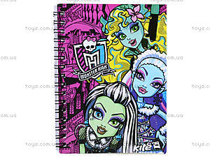 Блокнот Monster High, А6, MH13-226K