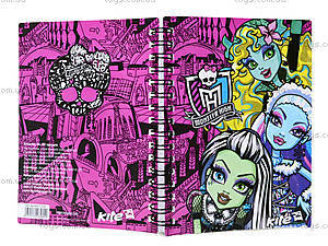 Блокнот Monster High, А6, MH13-226K, фото