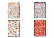 Блокнот на резинке с декором, в коробке, цвета микс, 606420, цена
