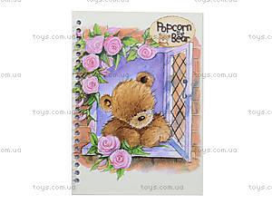 Блокнот на пружине Popcorn Bear, PO13-222K