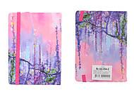 """Блокнот на резинке """"Цветущее дерево"""" 96 листов, A6-094-2, детские игрушки"""