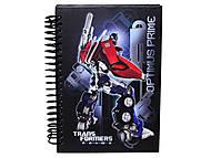 Блокнот на спирали Transformers, TF13-222K, фото