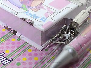 Блокнот на замке с ручкой Pop Pixie, PP13-142К, отзывы
