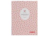 Блокнот PICCOLI, А5, 80 листов, клетка, розовый, BM.24522101-43, игрушки